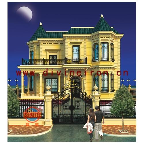 吉林洋房别墅庭院门